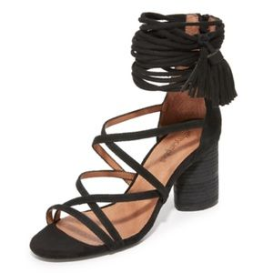 Jeffery Campbell despina strappy sandal suede